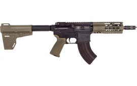"Diamondback DB15P47FDE7 DB15 AR Pistol Semi-Auto 7"" 28+1 Polymer Flat Dark Earth Cerakote/Black Nitride"