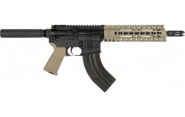 "Diamondback DB15P47FDE10 DB15 AR Pistol Semi-Auto 10"" 28+1 Polymer Flat Dark Earth Cerakote/Black Nitride"