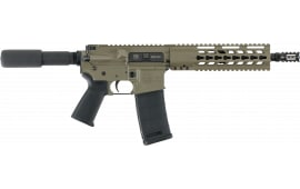 "Diamondback DB15P300FDE1 DB15 AR Pistol Semi-Auto 10.5"" 30+1 Polymer Black Hard Coat Anodized"
