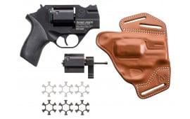 """Chiappa 340218 Rhino 200DS DA/SA 357 Magnum 2"""" 6rd Black Rubber Chrome"""