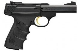 "Browning 051514490 Buck Mark Micro URX Single 22 LR 4"" 10+1 Black Ultragrip RX Grip Blued"