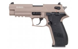 "GSG German Sports Guns GERG2210FFT GSG Firefly DA/SA 22 LR 4"" 10+1 Tan Polymer Grip Tan"