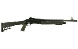 "Dickinson XX3D2 Defense Pump 12GA 18.5"" 3"" 5+1 Synthetic Black"