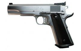 "Colt O2580CM 1911 Special Combat Government Single 38 Super 5"" 9+1 Black/Silver Composite Grip Blued"