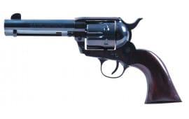 "Heritage Mfg RR45B4 Rough Rider Big Bore Single 45 Colt (LC) 4.75"" 6 Cocobolo Blued"