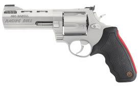 "Taurus 2454029M 454 Raging Bull 454 Casull 2.25"" 5rd Adj Sight Synthetic Grip SS"
