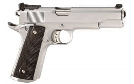 "Colt O2570CM 1911 Special Combat Government Single 38 Super 5"" 9+1 Black/Silver Composite Grip Chrome Hard"