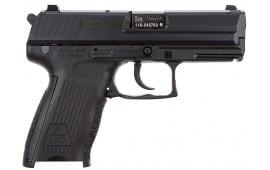 "HK M709203-A5 P2000 V3 DA/SA 9mm 3.66"" 13+1 2 Mags 3-Dot Decocker Black Interchangeable Backstrap Grip Blued"