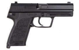 "HK M709001A5 USP9 V1 DA/SA 9mm 15+1 4.25"" Black Modular Synthetic Grip Blued"