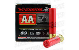 Winchester Ammo AASC418D AA SPT CLY 1/2 - 75sh Box