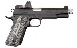 "Ed Brown SF3SSG4LRSR Special Forces Suppressor Ready SOA 45 ACP 5.0"" 7+1 Black/Gray G10 Grip Black Gen4"