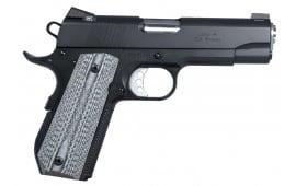 "Ed Brown SFC3SSG4 Special Forces Carry SOA 45 ACP 4.25"" 7+1 Black/Gray G10 Grip Black Gen4"