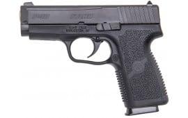 """Kahr Arms KP4044 P40 Standard DAO 40 S&W 3.5"""" 6+1 Poly Grip Black Poly Frame/Black SS"""