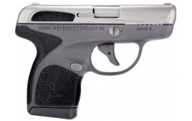 "Taurus 1007039201 Spectrum Double 380 ACP 2.8"" 6+1/7+1 Grey Frame Polymer Grip, Stainless"