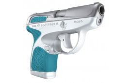 "Taurus 1007039320 Spectrum Double 380 ACP 2.8"" 6+1/7+1 Cyan Polymer Grip Stainless"