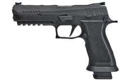 "Sig Sauer 320X59BAS P320 Double 9mm Luger 5"" 21+1 Black Polymer Grip Black Nitron"