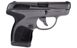 "Taurus 1007031201 Spectrum Double 380 ACP 2.8"" 6+1/7+1 Black Polymer Grip Black Stainless Steel"
