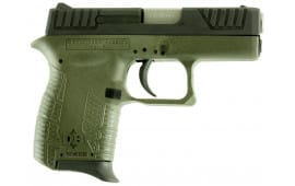 "Diamondback DB380ODG DB380 Double 380 ACP 2.8"" 6+1 OD Green Polymer Grip/Frame Grip Black"