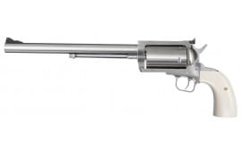 """Magnum Research BFR500SW10B BFR Long Cylinder SS Single 500 Smith & Wesson (S&W) 10"""" 5 Bisley Black Laminate Stainless Steel"""