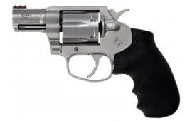 "Colt COBRASM2FO Cobra 38 Spl+P Double Action 2"" 6 Hogue Overmolded Stainless Steel"
