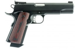 "Ed Brown ETBBCAL2 Executive Target Gen 4 *CA Compliant* Single 45 ACP 5"" 7+1 Laminate Wood Grip Black Carbon Steel"
