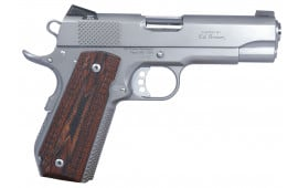 "Ed Brown KCSSCAL2 Kobra Carry *CA Compliant* Single 45 ACP 4.25"" 7+1 Laminate Wood Grip Stainless"