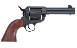"""Traditions SAT73260 1873 Single Action Rawhide 45LC 4.75"""" Walnut Grip Black"""