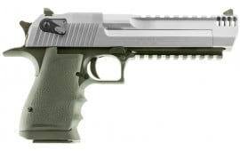 "Magnum Research DE44ASIMB Desert Eagle Single 44 Magnum 6"" 8+1 Black Polymer Grip Stainless Steel"