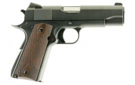 """Dan Wesson 01946 1911 A2 Single 45 ACP 5"""" 8+1 FS Walnut Grip Blued"""