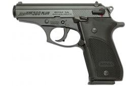 "Bersa THUN380PM15 Thunder Plus DA/SA 380 ACP 3.5"" 15+1 Black Poly Grip Black"