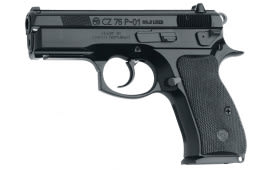 "CZ 01199 CZ-P P-01 9mm 3.9"" 10+1 Black Synthetic Grip Black Finish"