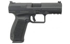 "Century HG4068N TP9DA DA/SA 9mm Luger 4.07"" 18+1 Black Interchangeable Backstrap Grip/Frame Black Cerakote"