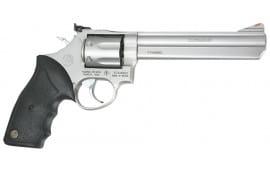 "Taurus 2660069 Mod 66 357 RemMag 6"" 7rd Adj Sight Black Synthetic Grip Matte SS"
