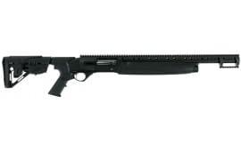 "Hatfield USA12T SAS Semi-Auto 12GA 20"" 3"" 4+1 5-Position Adjustable Synthetic w/Pistol Grip Black"