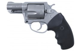 "Charter Arms 73520 Mag Pug Standard DA/SA 357 Magazine 2.2"" 5 Black Rubber Stainless"