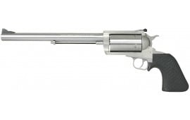 "Magnum Research BFR460SW10 BFR Long Cylinder SS Single 460 Smith & Wesson Magnum 10"" 5 Black Rubber Stainless"