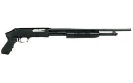 "Mossberg 50455 500 Cruiser Pump 410GA 18.5"" CB 3"" 5+1 Black Synthetic PG Stock Blued"