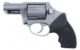"Charter Arms 73811 Undercover Double Action Only Double 38 Special 2"" 5 Black Rubber Stainless"