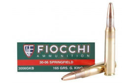 Fiocchi A3006SCA Extrema 30-06 165 GR Spitzer Boat Tail - 20rd Box