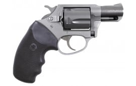"""Charter Arms 93820 Undercover Lite Southpaw DA/SA 38 Special 2"""" 5 Black Rubber Stainless"""