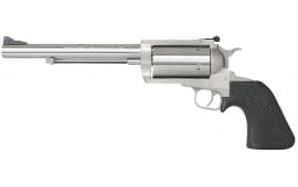 """Magnum Research BFR500SW BFR Long Cylinder SS Single 500 Smith & Wesson 7.5"""" 5 Black Rubber Stainless"""