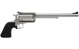 """Magnum Research BFR500SW10 BFR Long Cylinder SS Single 500 Smith & Wesson 10"""" 5 Black Rubber Stainless"""
