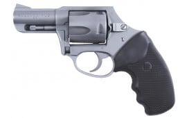 """Charter Arms 74421 Bulldog Double Action Only 44 Special 2.5"""" 5 Black Rubber Stainless"""