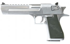 "Magnum Research DE50BC Desert Eagle Mk XIX 50AE 6"" 7+1 Black Synthetic Brushed Chrome"