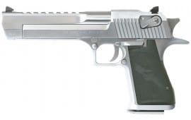 "Magnum Research DE50BC Desert Eagle Mk XIX 50AE 6"" 7+1 Black Synthetic Brushed Chrome"