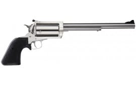 """Magnum Research BFR45/70 BFR Long Cylinder SS Single 45-70 Government 10"""" 5 Black Rubber Stainless"""