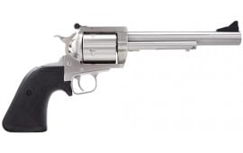 "Magnum Research BFR454C BFR Short Cylinder SS Single 454 Casull 6.5"" 5 Black Rubber Stainless"