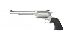 "Magnum Research BFR454C7 BFR Short Cylinder SS Single 454 Casull 7.5"" 5 Black Rubber Stainless"