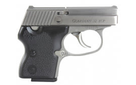 "NAA GUARDiamondbackN 32 Guardian 32 ACP 2.19"" 6+1 Black Hard Rubber Grip SS"