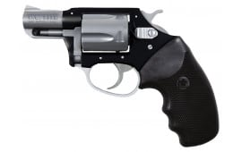 """Charter Arms 53870 Undercover Lite Standard DA/SA 38 Special 2"""" 5 Black Rubber Stainless"""